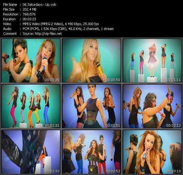 Saturdays HQ Videoclip «Up»