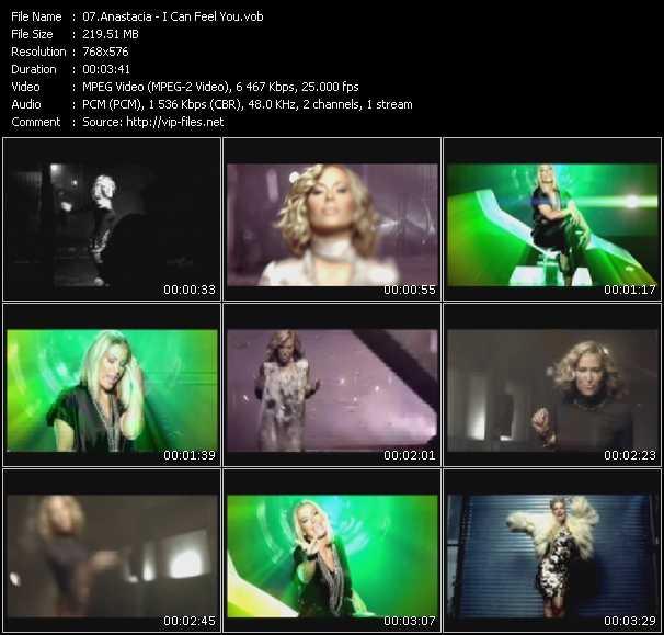 Anastacia HQ Videoclip «I Can Feel You»