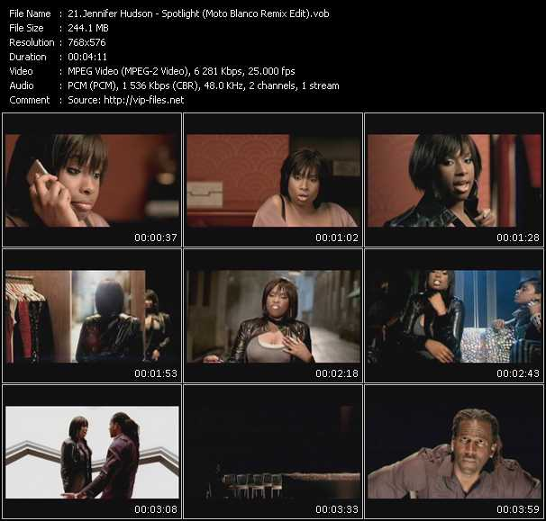 Jennifer Hudson HQ Videoclip «Spotlight (Moto Blanco Remix Edit)»