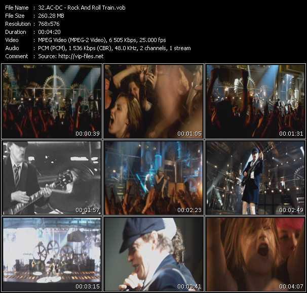 Ac-Dc HQ Videoclip «Rock And Roll Train»