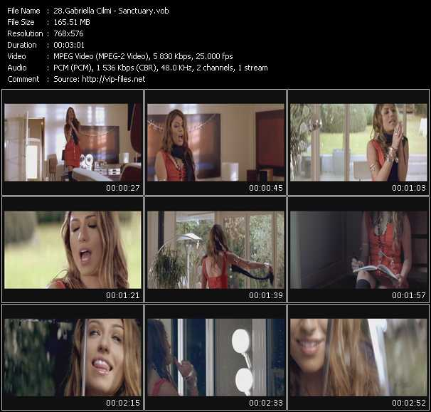 Gabriella Cilmi video - Sanctuary