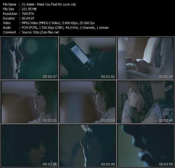Adele music video Fboom