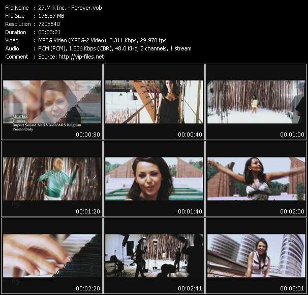 Milk Inc. HQ Videoclip «Forever»