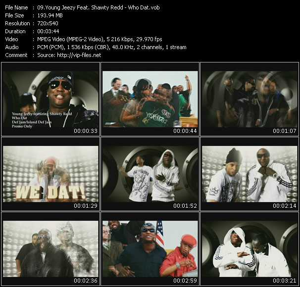 Young Jeezy Feat. Shawty Redd HQ Videoclip «Who Dat»
