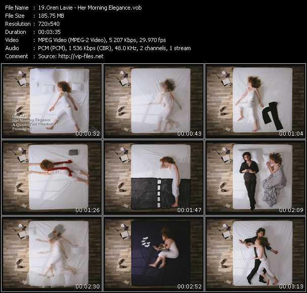 Oren Lavie HQ Videoclip «Her Morning Elegance»
