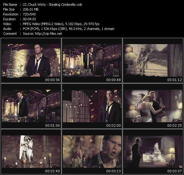 Chuck Wicks HQ Videoclip «Stealing Cinderella»