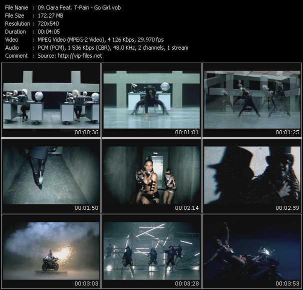 Ciara Feat. T-Pain HQ Videoclip «Go Girl»