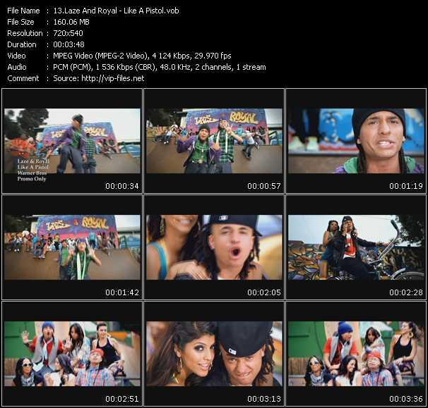 Laze And Royal HQ Videoclip «Like A Pistol»