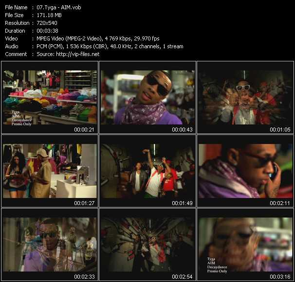 Tyga HQ Videoclip «AIM»