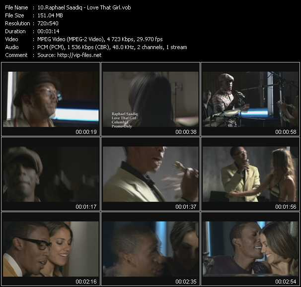 Raphael Saadiq HQ Videoclip «Love That Girl»