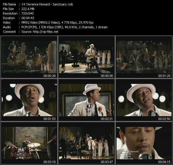 Terrence Howard HQ Videoclip «Sanctuary»