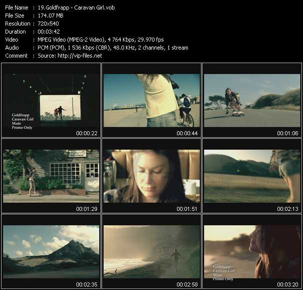 Goldfrapp HQ Videoclip «Caravan Girl»