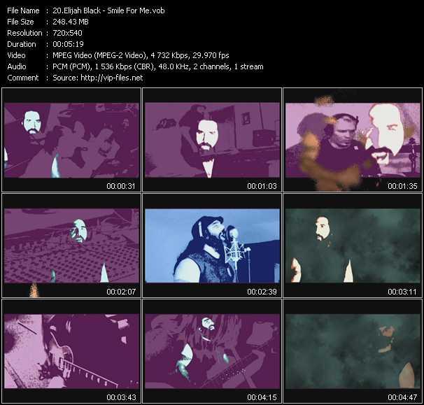 Elijah Black HQ Videoclip «Smile For Me»