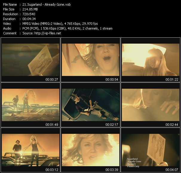 Sugarland HQ Videoclip «Already Gone»