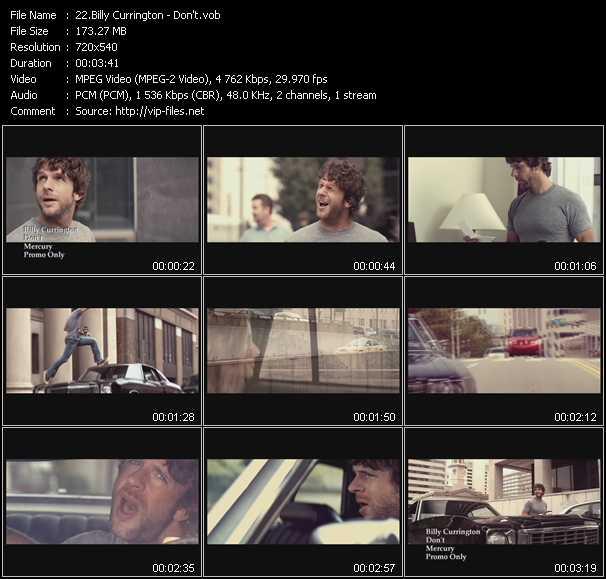 Billy Currington HQ Videoclip «Don't»