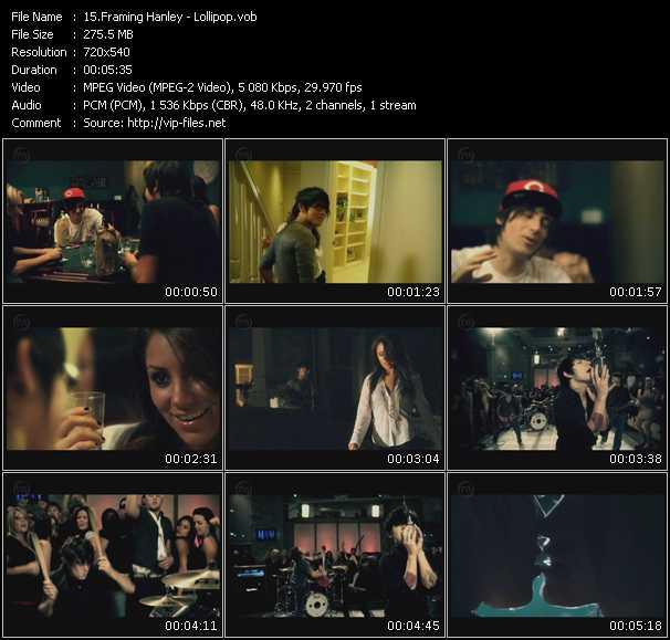 Framing Hanley «Lollipop» VOB File