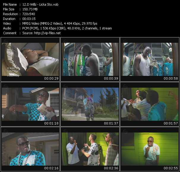 D. Willz music video Publish2
