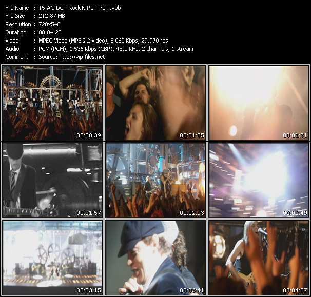 Ac-Dc video - Rock N Roll Train