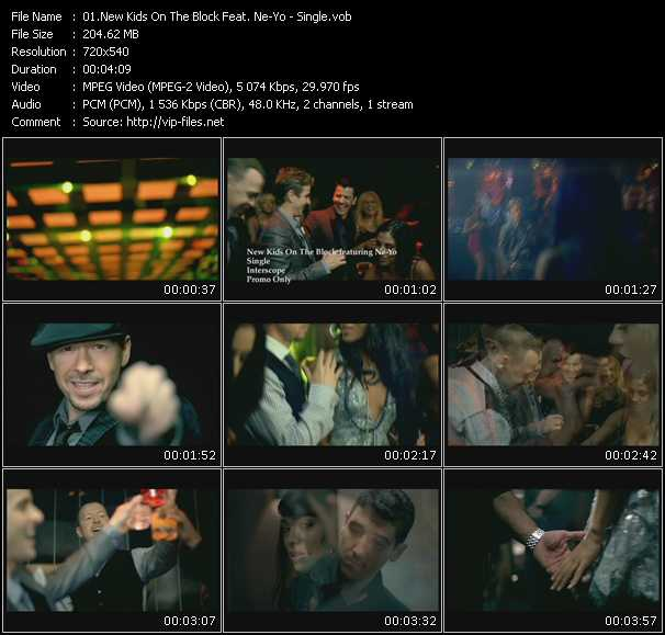 New Kids On The Block Feat. Ne-Yo HQ Videoclip «Single»