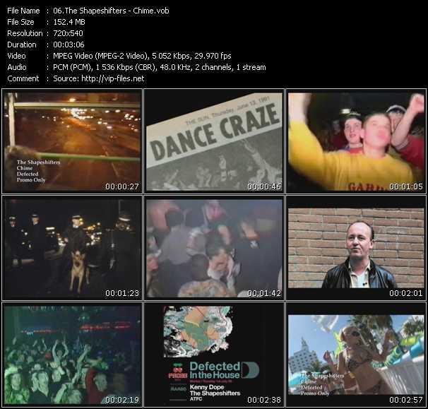 Shapeshifters (Shape: UK) HQ Videoclip «Chime»