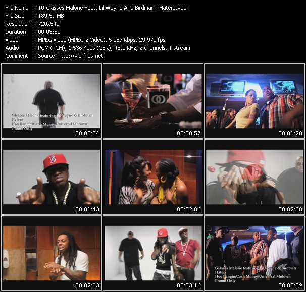 Glasses Malone Feat. Lil' Wayne And Birdman HQ Videoclip «Haterz»