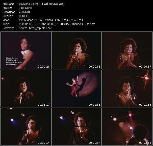 Gloria Gaynor HQ Videoclip «I Will Survive»