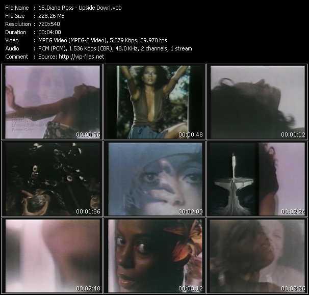 Diana Ross HQ Videoclip «Upside Down»