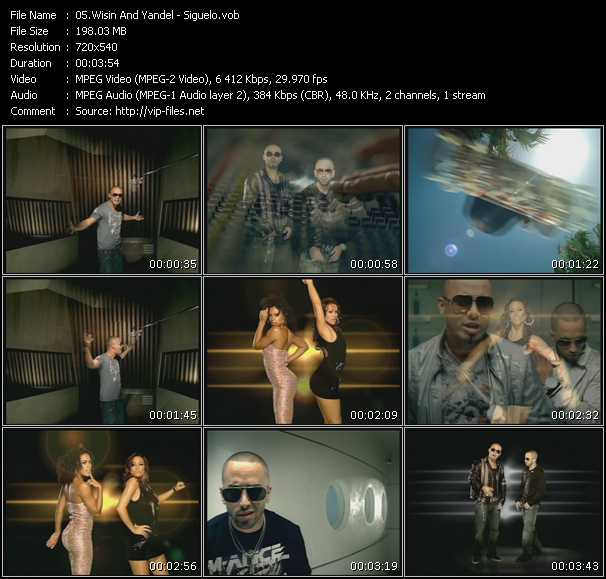 Wisin And Yandel video - Siguelo