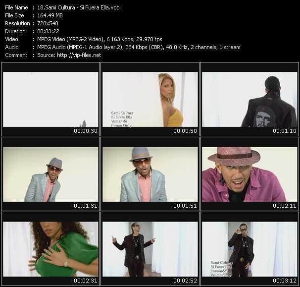 Sami Cultura HQ Videoclip «Si Fuera Ella»