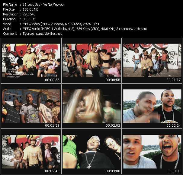 Loco Jay HQ Videoclip «Yu No Me»