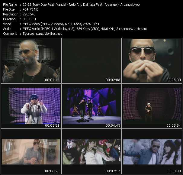 Tony Dize Feat. Yandel - Nejo And Dalmata Feat. Arcangel - Arcangel HQ Videoclip «Permitame - Algo Musical - Pa Que La Pases Bien»