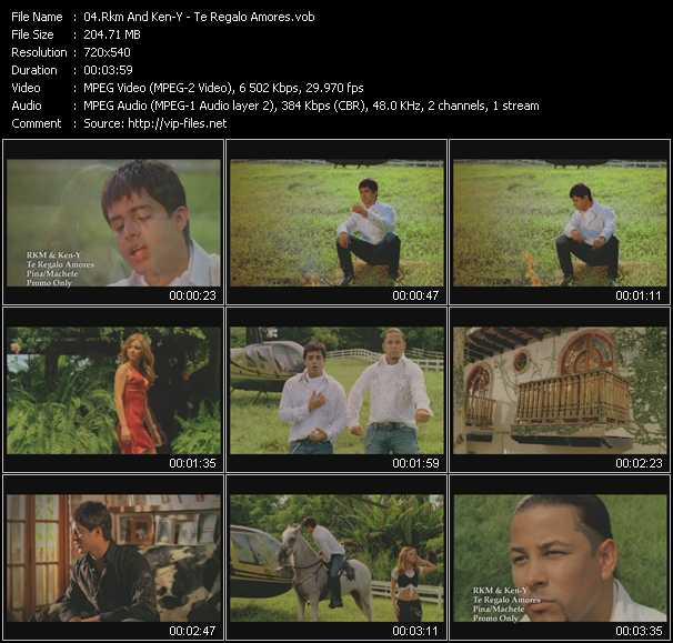 Rakim And Ken-Y HQ Videoclip «Te Regalo Amores»