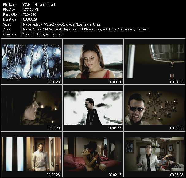 Mj HQ Videoclip «He Venido»