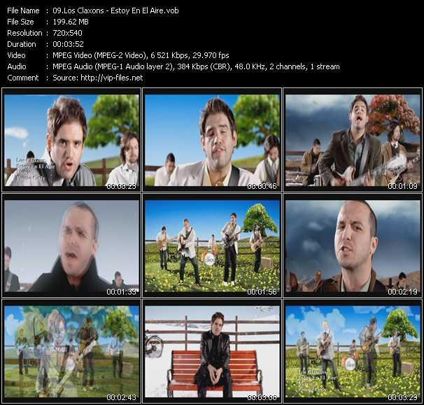 Los Claxons HQ Videoclip «Estoy En El Aire»