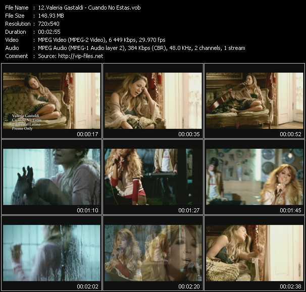 Valeria Gastaldi HQ Videoclip «Cuando No Estas»