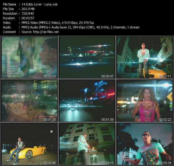 Eddy Lover HQ Videoclip «Luna»