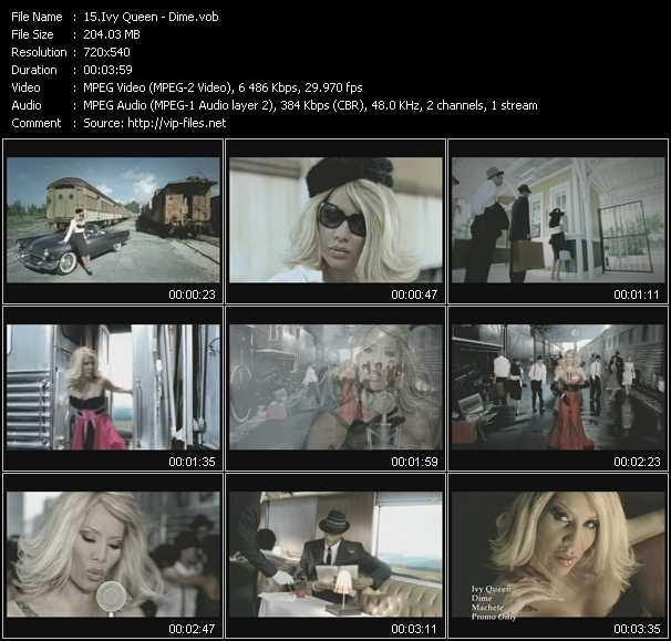 Ivy Queen HQ Videoclip «Dime»