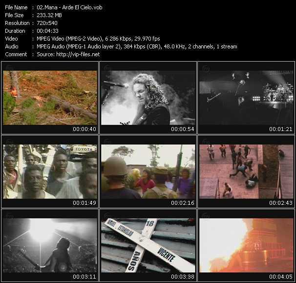 Mana HQ Videoclip «Arde El Cielo»