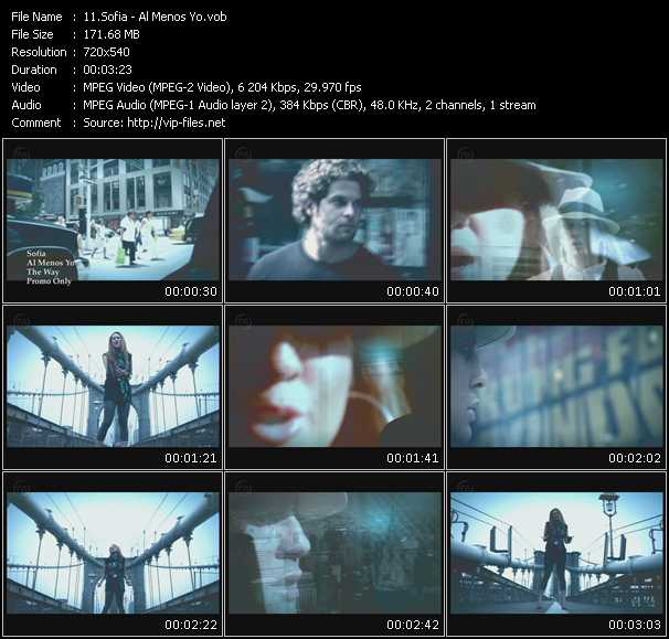 Sofia HQ Videoclip «Al Menos Yo»