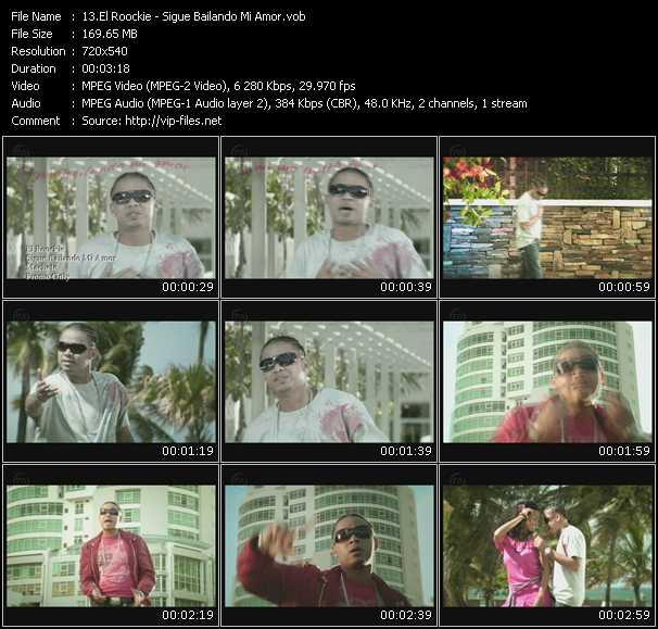 El Roockie HQ Videoclip «Sigue Bailando Mi Amor»