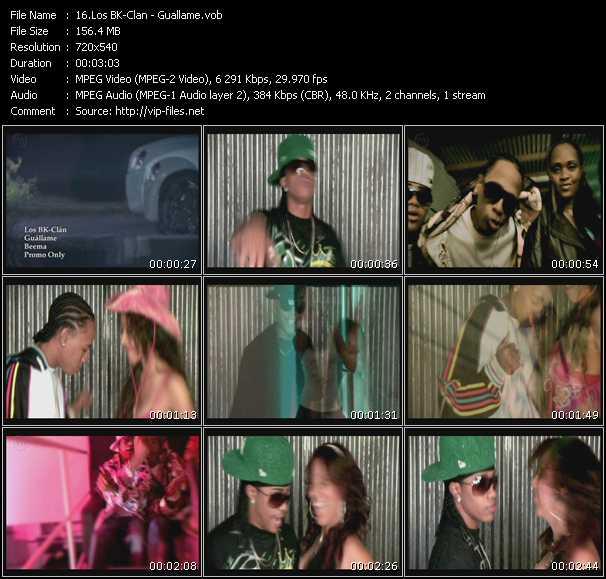 Los BK-Clan HQ Videoclip «Guallame»