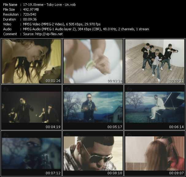 Xtreme - Toby Love - Un HQ Videoclip «A Donde Se Fue - Llorar Lloviendo - No Tengo Amor»