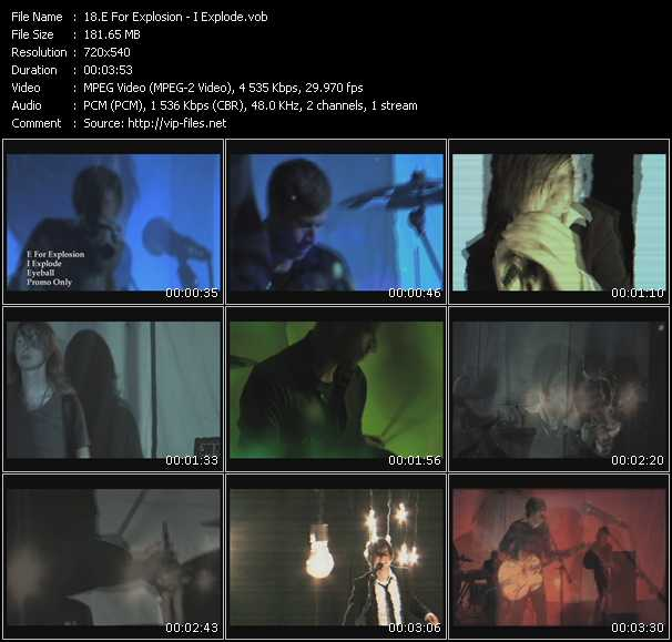 E For Explosion music video Publish2