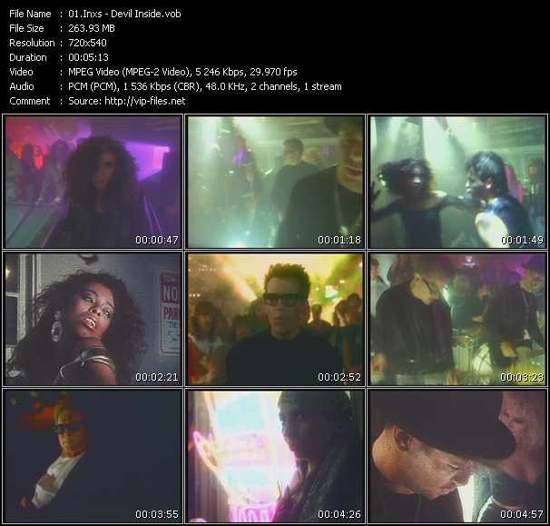 Inxs HQ Videoclip «Devil Inside»