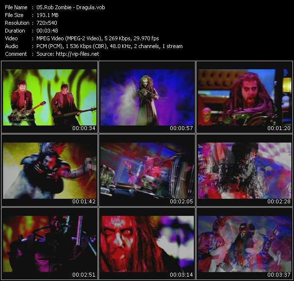 Rob Zombie HQ Videoclip «Dragula»