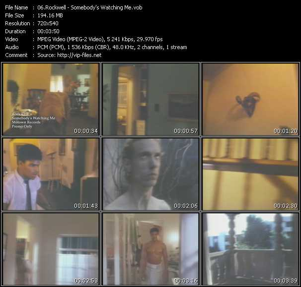 Rockwell HQ Videoclip «Somebody's Watching Me»