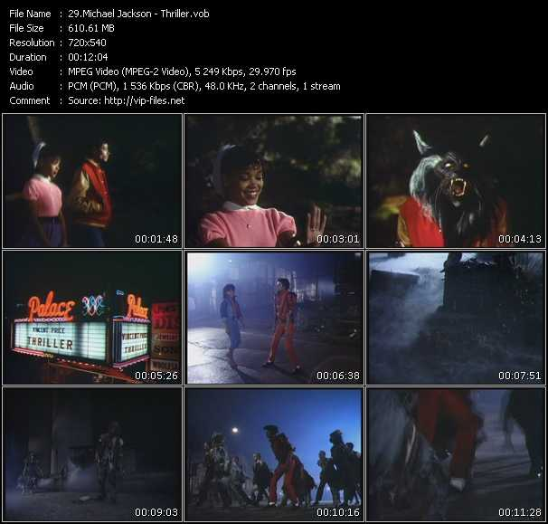 Michael Jackson HQ Videoclip «Thriller»