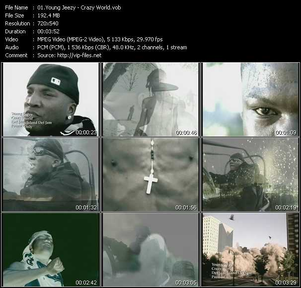 Young Jeezy HQ Videoclip «Crazy World»
