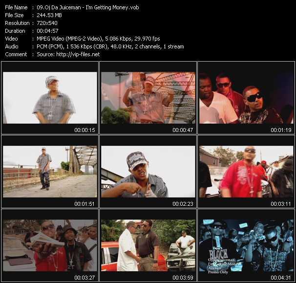 Oj Da Juiceman HQ Videoclip «I'm Getting Money»
