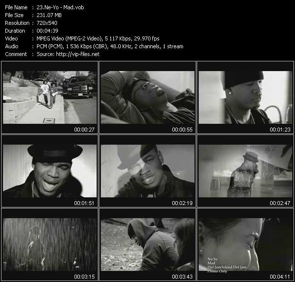 Ne-Yo HQ Videoclip «Mad»